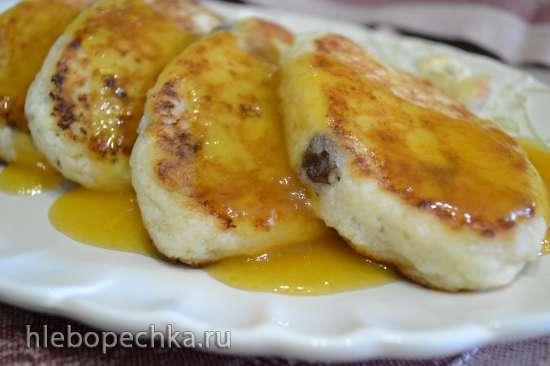 Сырники с изюмом, на льняном загустителе (без яиц)