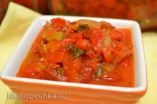 Соус овощной, многофункциональный (на каждый день и консервирование)