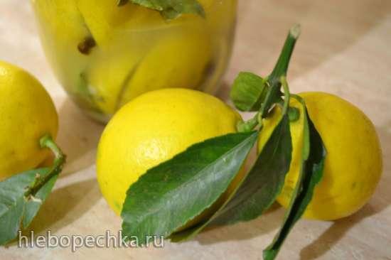 Марокканские соленые лимоны