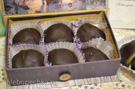 Яблочный мармелад в шоколаде «candied fruits (glace fruits)»