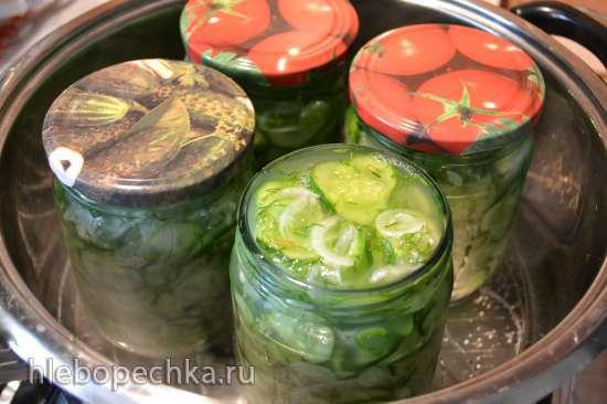 Огурчики салатные, закусочные, нежинские