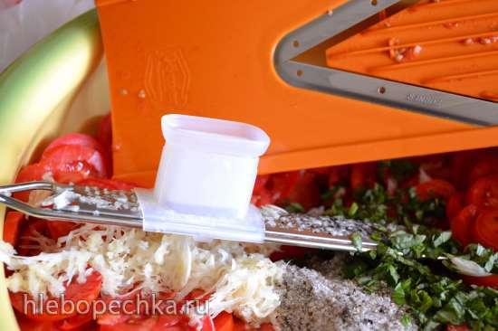Томатные чипсы со специями