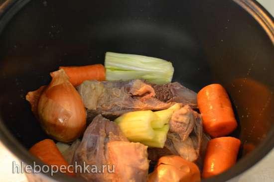 Мясной бульон из говядины или «скока вешать в граммах»