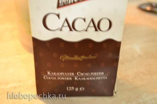 Крем из авокадо с финиками и какао (постный, вегетарианский)