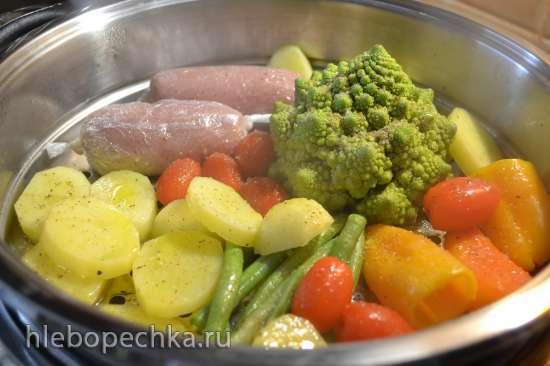 Колбаски-сардельки диетические (домашние)