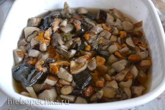 Грибная икра консервированная (4 варианта приготовления)