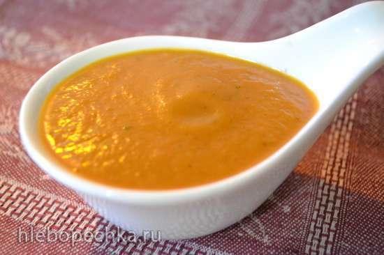 Перепела, тушеные в красном кисло-сладком соусе с яблоками (Мультиварка Marta MT-1989)