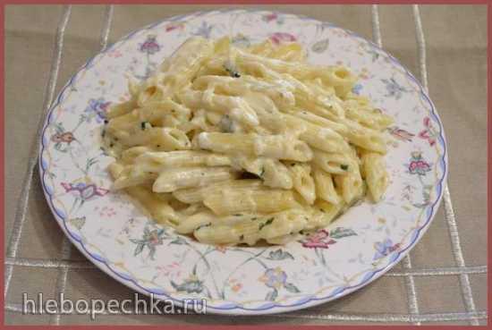 Пенне в соусе из мягкого сыра