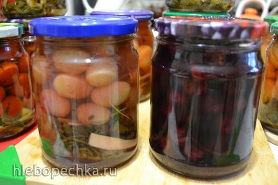Запасаемся впрок, чем можем (овощные и фруктовые заготовки)