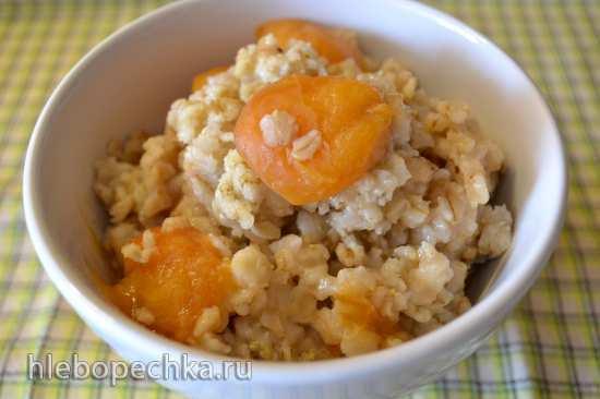 Каша геркулесовая абрикосовая постная (Redmond RMC-01)