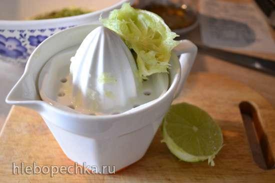 Натуральная котлета из баранины на косточке, в йогуртовом маринаде (сковорода гриль)
