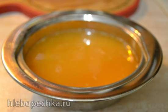Шашлыки куриные с овощами, с мандариновым соусом запеченные в купольном гриле
