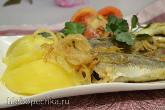 «Морские лисички» жареные на сковороде