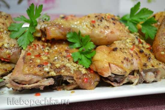Курица-тапака запеченная в духовке