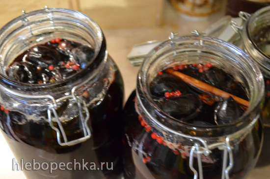 Чернослив десертный «candied fruits (glace fruits)», с ромом, бадьяном, корицей, розовым перцем