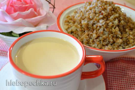 Молоко топленое (медленноварка Russel Hobbs (3,5л)