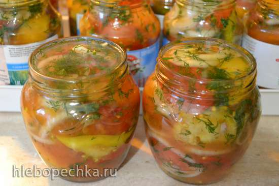 Салат «Аччик-чучук» консервированный