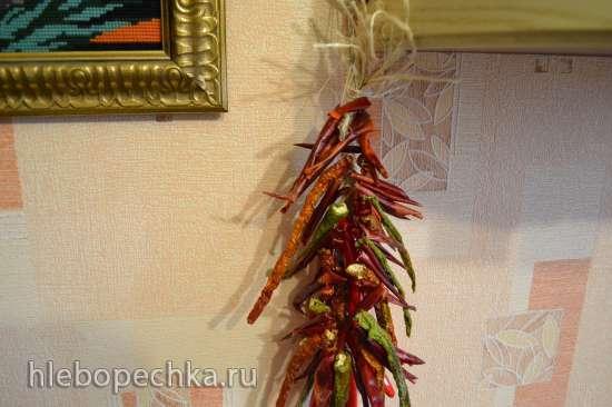 Мои игры с перцами: с чили-горьким и сладким болгарским, а также перцем горошком
