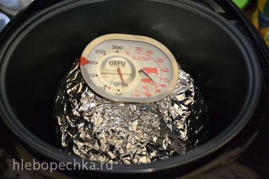 Говядина (телятина), томленая в фольге (мультиварка Marta MT-1989)