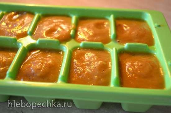 Красный пряный кисло-сладкий соус с кислыми яблоками (Мультиварка Marta MT-1989)