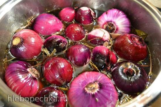 Лук репчатый красный, маринованный «candied fruits (glace fruits)»