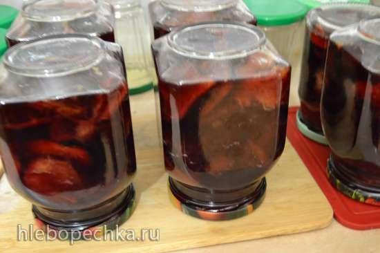 Слива венгерка, натуральная, в собственном соку (духовка)