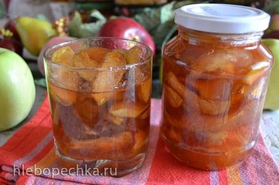 Варенье яблочное из антоновки «5-ти дневное», дольками
