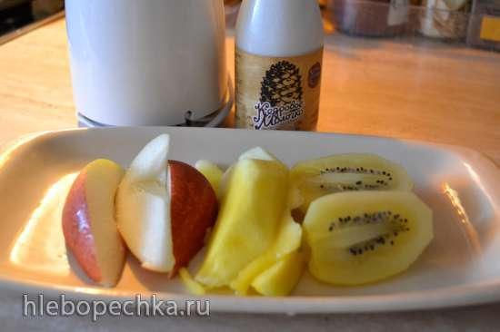 Смузи фруктовый с кедровым молоком