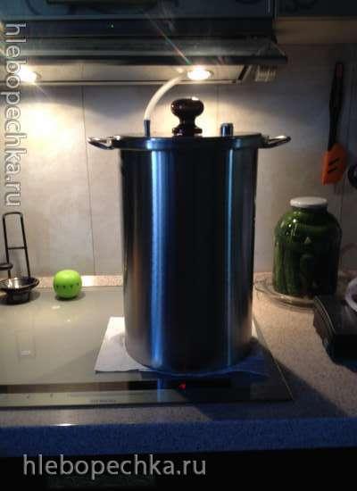 Оригинальная коптильня HANHI из нержавеющей стали с гидрозатвором