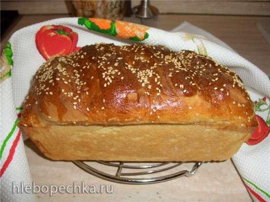 Картофельно-кукурузный хлеб (духовка)