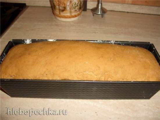 Хлеб пшенично-ржаной на картофеле (духовка)