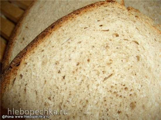 Хлеб пшенично-каштановый сливочный