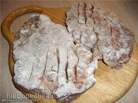 600 грамм мяса на 2 ст. л. растительного масла