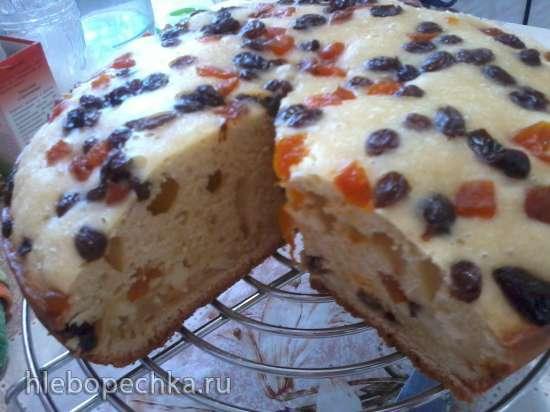 Торт на кефире  в мультиварке Polaris 0508D floris
