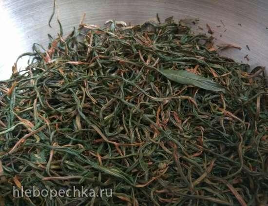 Волосы итальянского мачо (листовой чай из ферментированного иван-чая)