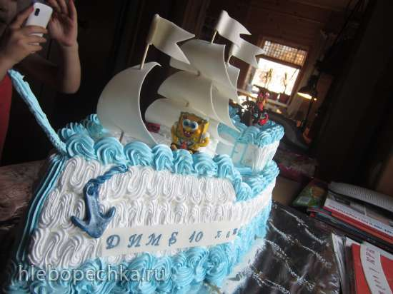 рецепт торта кучерявый мальчик фото