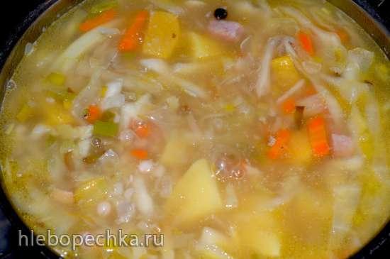 Суп «Гарбюр» (Garbure)