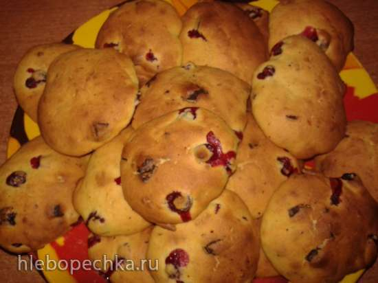 Печенье тыквенное с шоколадом