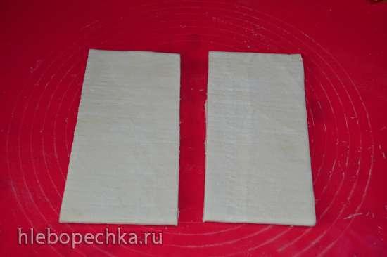 Закусочный пирог из слоеного теста (в форме Nordic Ware DeLis)