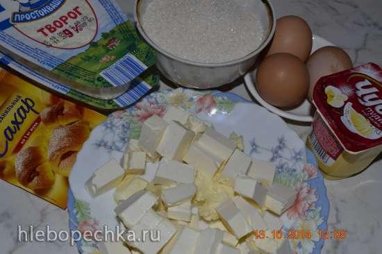 Russischer Zupfkuchen (Ванильно-шоколадный пирог)