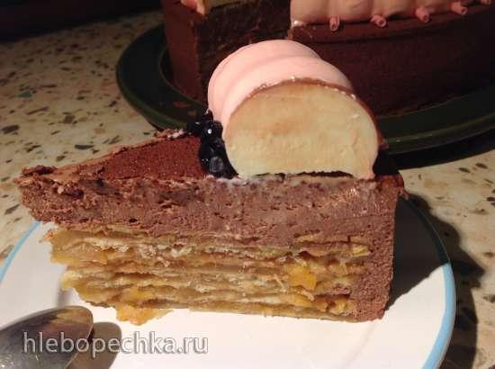 Муссовый торт Наполеон