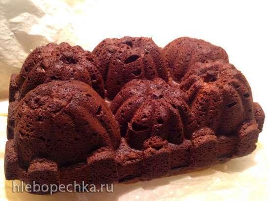 Тыквенный кекс с грецкими орехами