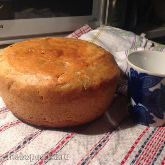 Хлеб  Деревенский (на долгой опаре) пшенично-ржаной