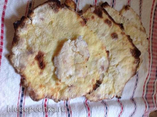 Парантха с картофельным пюре