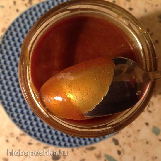 Карамельный соус со сметаной