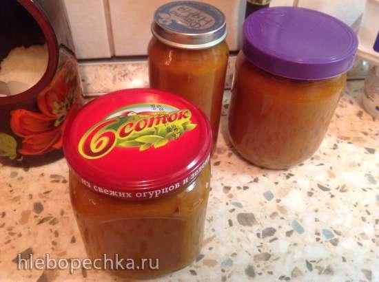 Карамельный тыквенный соус