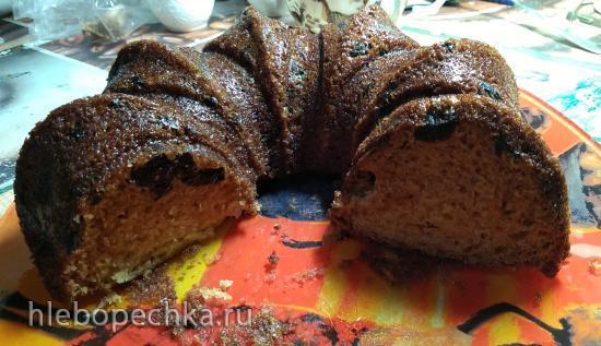 Кекс с черносливом и мёдом на кефире (кексница GFW-025 Keks Express)