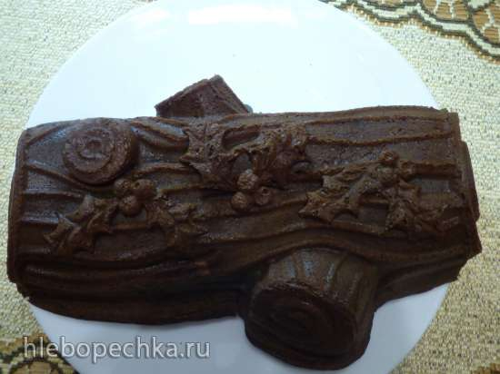 Шоколадный кекс с творожной начинкой для форм Nordic Wear (Урожай)
