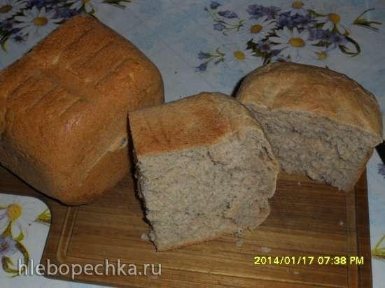 Пшенично-ржаной дрожжевой хлеб LG HB202CE
