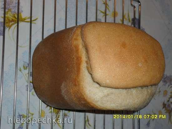 Пшенично-ржаная хлебная баба к чаю (хлебопечка)